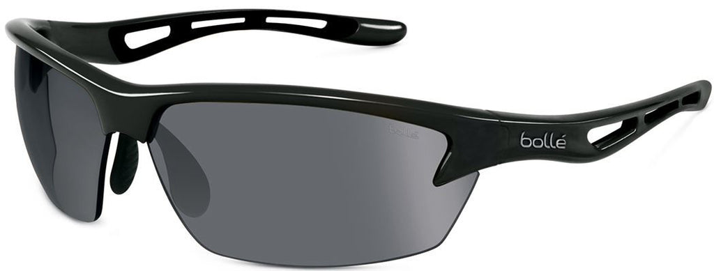 Bolle Bolt Sunglasses Shiny Black Frame TNS Lenses Size 80-16-129