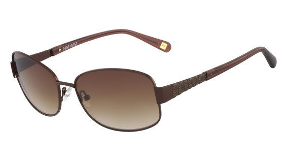 Nine West NW114S Sunglass 211 Bronze Frame Size 58-16-135