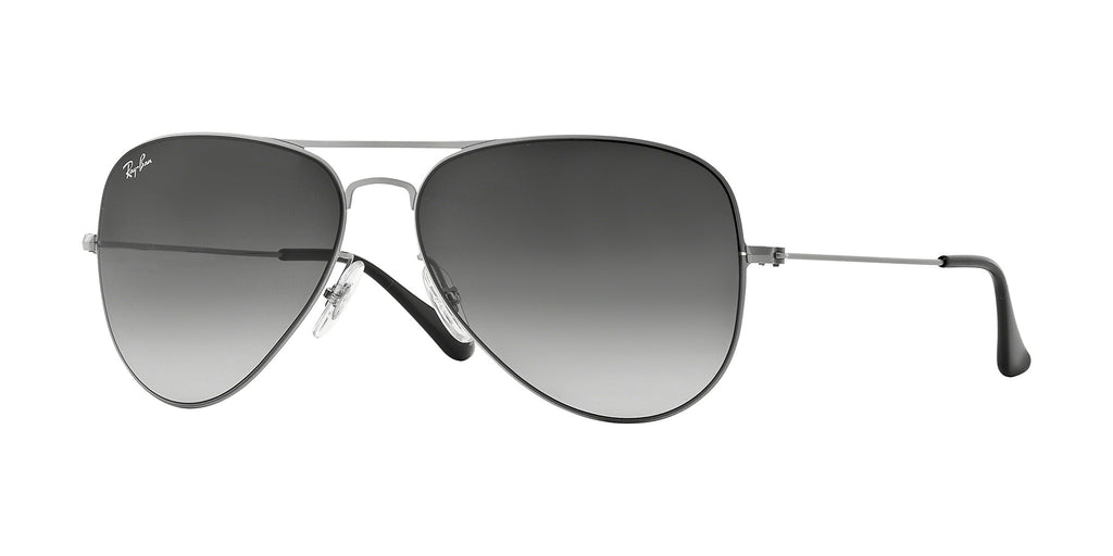 Ray-Ban RB3513 Sunglass 154/8G Demi Gloss Sand Silver Frame Grey Lenses Size 58-15-140