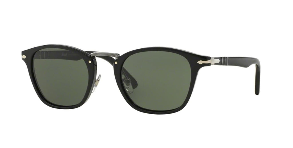 Persol PO3110S Sunglass 95/31 Black Frame Grey Lenses Size 51-22-145