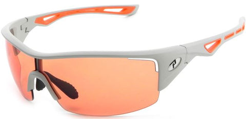 Peppers Walker Floating Sunglasses Matte Grey/Orange Frame Orange Lenses