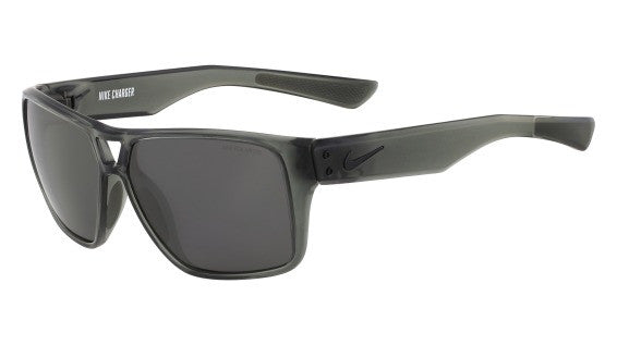 Nike Charger EV0763 Sunglass 010 Grey/Black Frame Polarized Grey Lenses Size 59-13-140