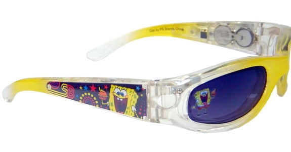 Nickelodeon Sponge Bob Squarepants Light-up Youth Sunglasses Yellow