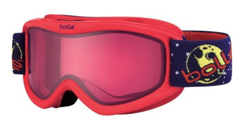 Bolle Amp Goggles Red/Rocket Print Frame Vermillon Lens Youth