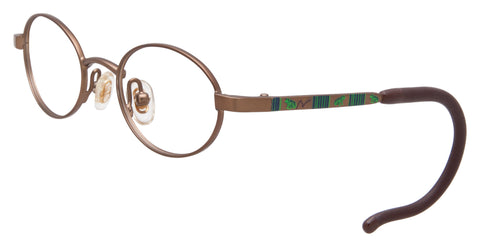 Dilli Dalli Sprout DDSPR Eyeglass Brown Frame Size 38-16-125