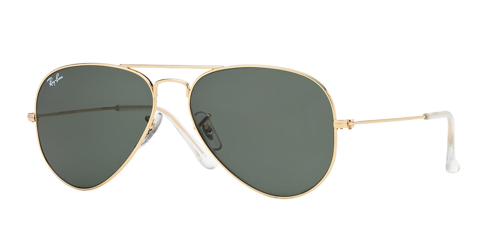Ray-Ban Aviator Classic RB3025 Sunglasses W3234 Gold Frame Grey Lenses Size 55-19-135