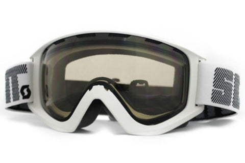 Scott Sanction Goggles white Frame natural Lens