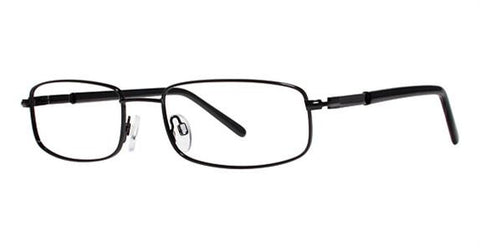 Modern Jazz Eyeglass Black Frame