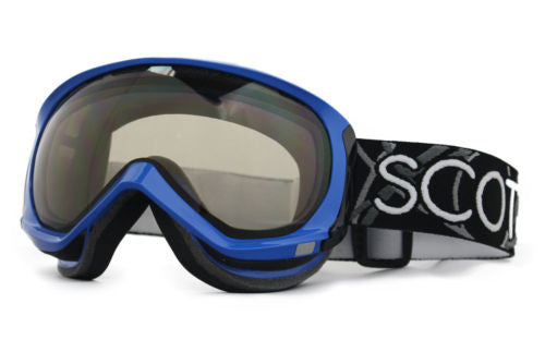 Scott Reply Goggles blue Frame Natural Lens