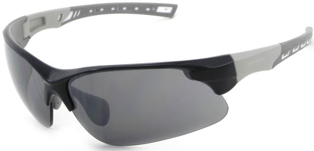 Peppers Swift Floating Sunglasses Shiny Black/Grey Frame Smoke Lenses