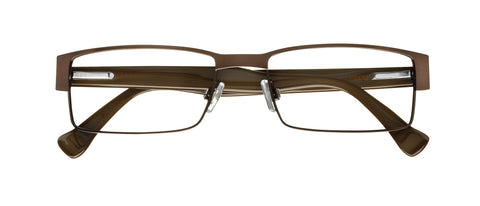 Marc Ecko Showdown MESHO Eyeglass Brown Frame Size 56-18-145