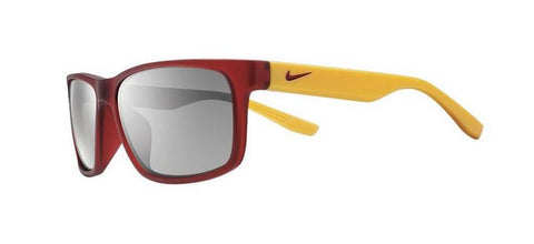 Nike Cruiser Team EV0893 Sunglass 670 Matte Red/Gold Frame Silver Lenses Size 59-16