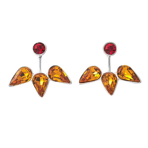 Spirit Ear Jackets - Red & Gold - Collegiate Soul