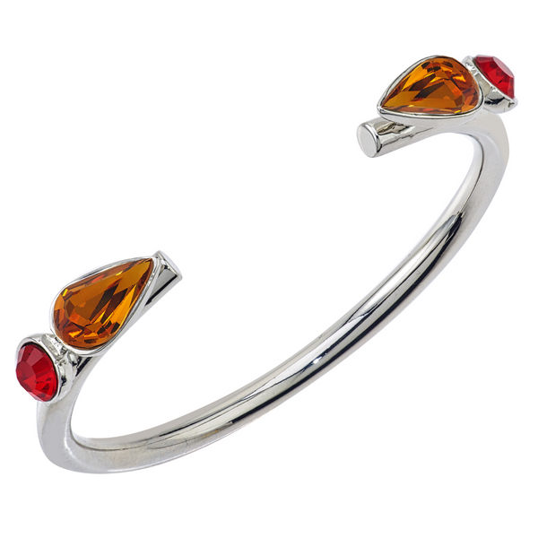 Spirit Cuff Bracelet - Red & Gold - Collegiate Soul