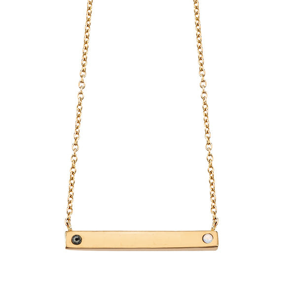 Pride Bar Necklace - CS Classic Collection - Collegiate Soul