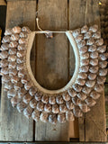 Layered Turbo Shell Collar Necklace