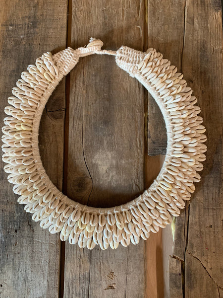 Cowry Shell Collar Necklace