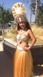 Tahitian Feather Headpiece