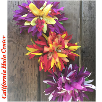 Spider Lily Hair Clip- 2-toned