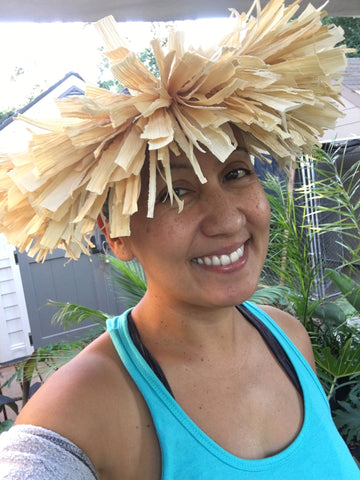 Tahitian Crown Husk Headpiece