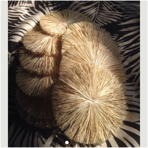 Raffia Circles- Natural