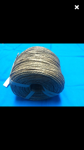 "Seagrass Twisted Coil 1/8"" wide"