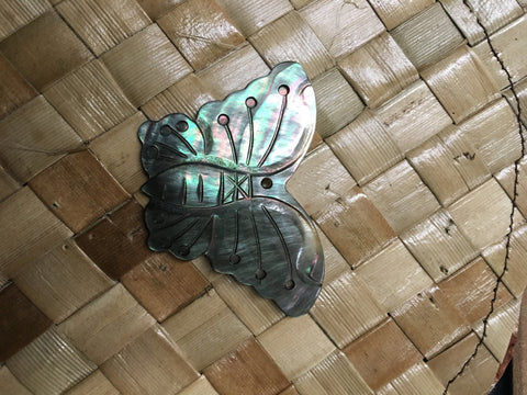 Mother of Pearl Blacklip Butterfly Shell