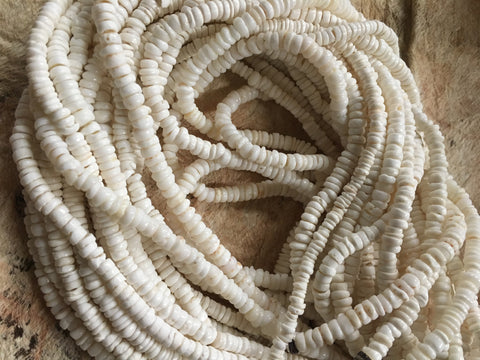 Shell Strand- Small White Puka Shells