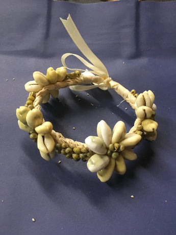 Cowry and Mongo Shell Bracelet