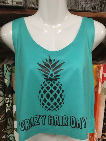 "Box Tank Top- ""Crazy Hair Day"""