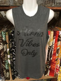 "Unisex Muscle Tank Top- ""Aloha Vibes Only"""