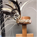 Tahitian Feather Side Headpiece