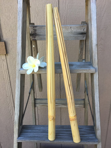Hawaiian Pu'ili Sticks (Pair)