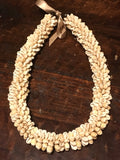 Cowry Shell Ring Lei Necklace
