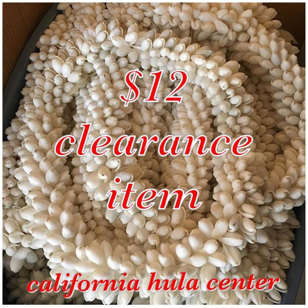 CLEARANCE Bubble Shell Lei