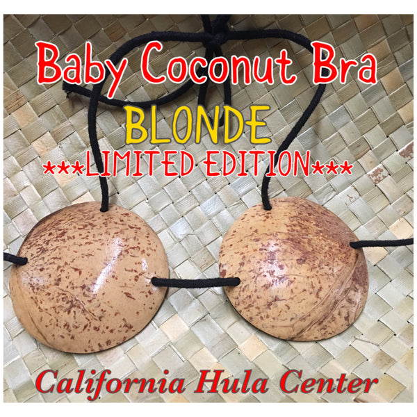 Blonde Coconut Bra (for little people)