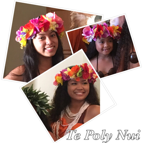 Artificial Flower Crown Style Headpiece