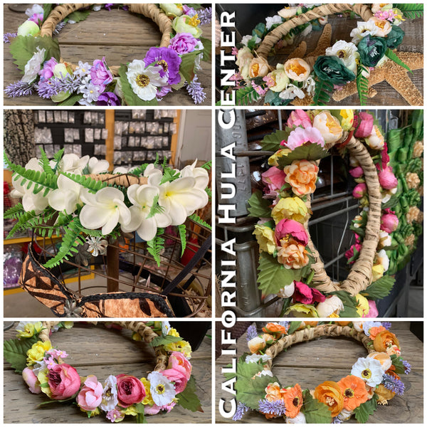 Artificial Fairy Flower Crown Headpiece