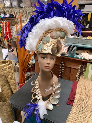Ori Tahiti Feather and Abalone Shell Costume