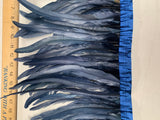 "Rooster Tail Feathers 10-12"" Spaced Apart"