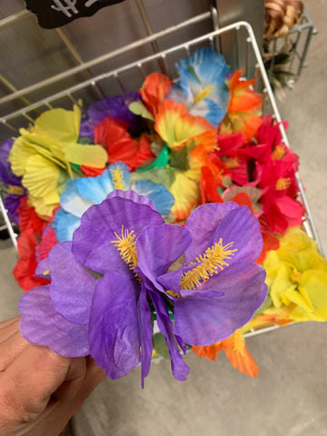 CLEARANCE Hibiscus Hair Clips