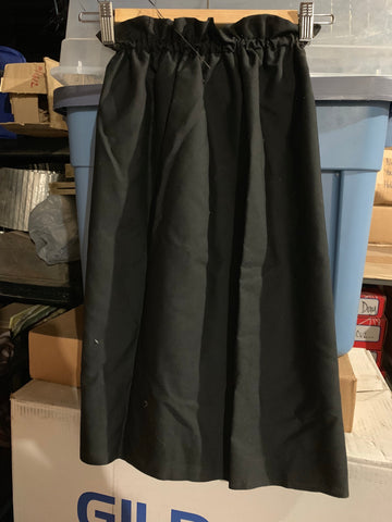 Long, Black Tube Dress Kid-size