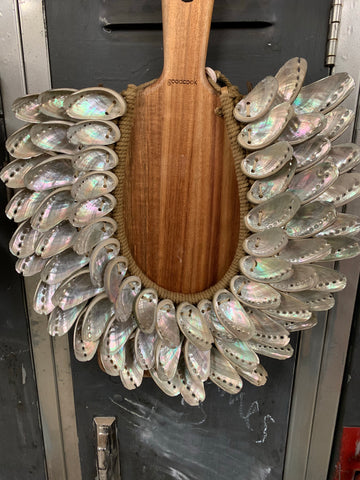 Abalone Shell Collar Necklace