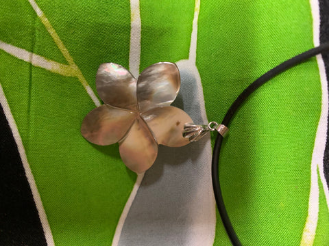 Mother of Pearl Shell Cord Necklace