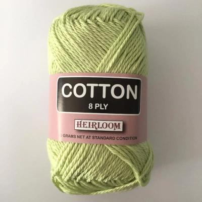 Heirloom Cotton 8ply Pale Green