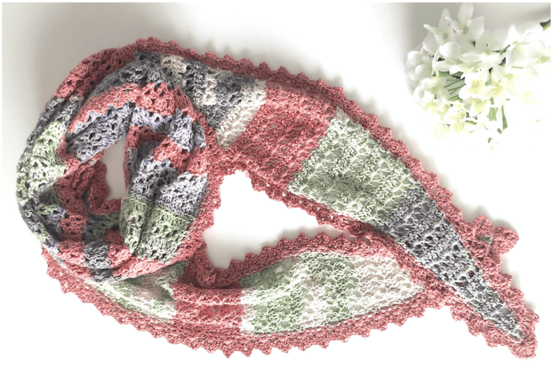 'RIVERSIDE SCARF' ~ COLLECTORS EDITION (KnitProHook)