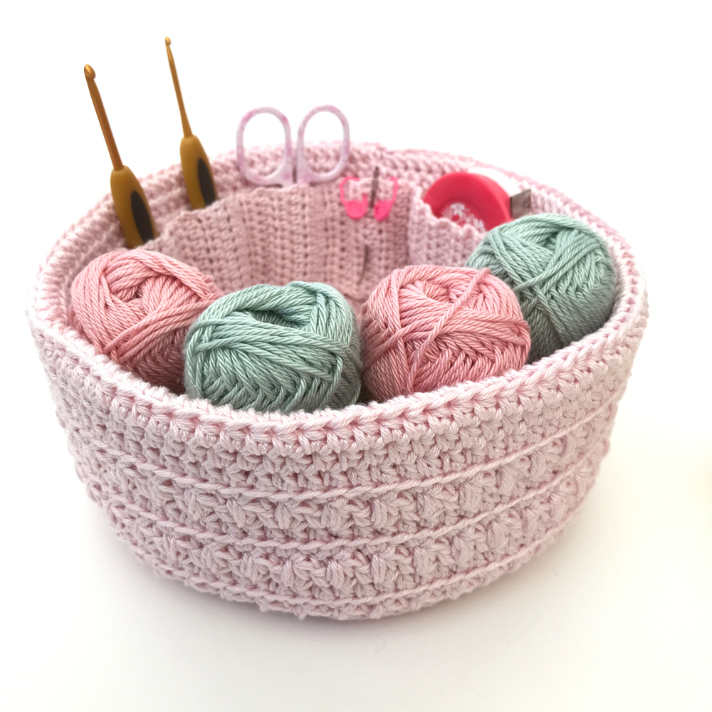 'ORGANISED PROJECT BASKET PATTERN'  COLLECTORS EDITION (KnitProWaves)