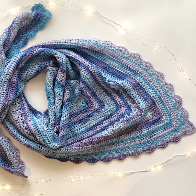 COMING SOON... Simply Spontaneous Shawl