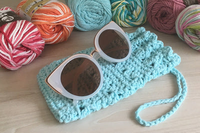 SUNGLASSES CASE by Carmela Ann