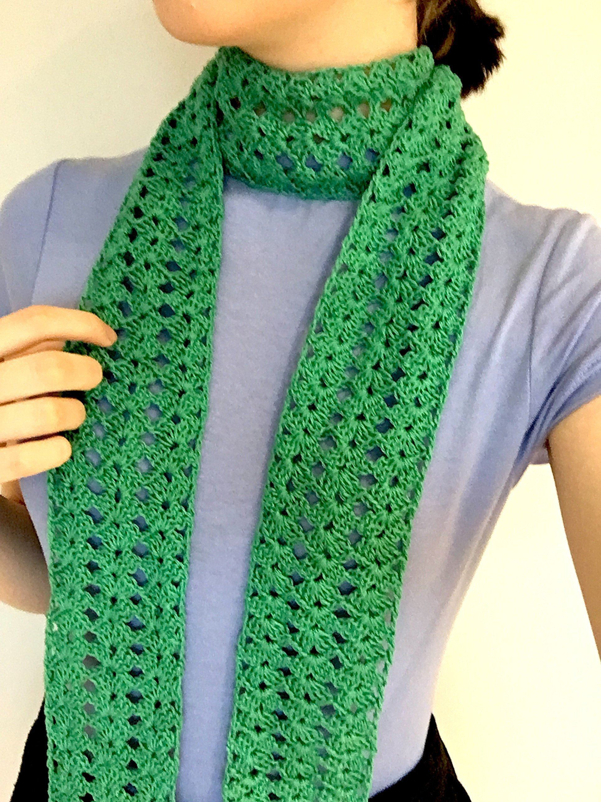 SHELLEY SCARF PATTERN PDF